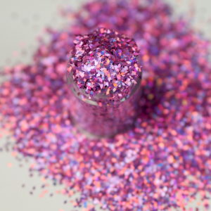 Pink Holographic Dazzling Diamonds